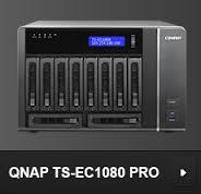 שרת QNAP TS-EC1080 PRO NAS
