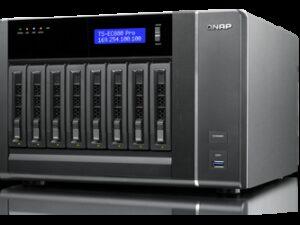 שרת QNAP TS-EC880 PRO NAS