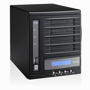 Thecus 4560 Soho / SMB 4-bay Mini-tower Multimedia NAS Intel SoC