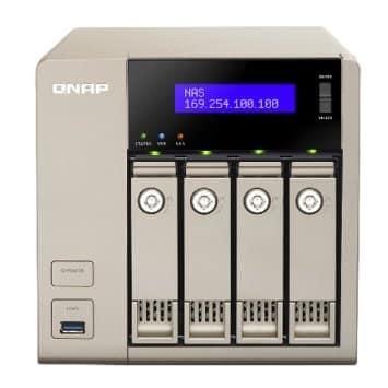 QNAP TVS-463-4G,4 Bay NAS,AMD GX-424CC QC 2.4GHz