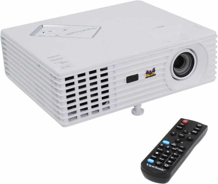 ViewSonic PJD7822HDL DLP 3200 Lumens, 2x HDMI, Powered USB, 3D Blu-Ray Ready 1080p - ViewSonic