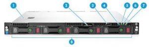 שרת HP ProLiant DL160 G9 E5-2609 v3 Up To 8 HDD K8J94A – HP