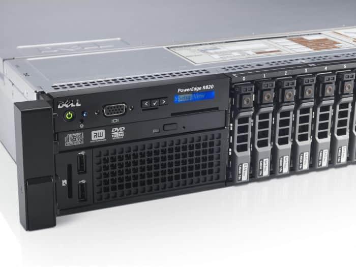 PowerEdge R820, Intel Xeon E5-46XX v2 Processors - Dell