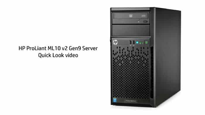 שרת HP ProLiant ML10V2 E3-1220v3 8GB B120i DVDRW P6B11A - HP
