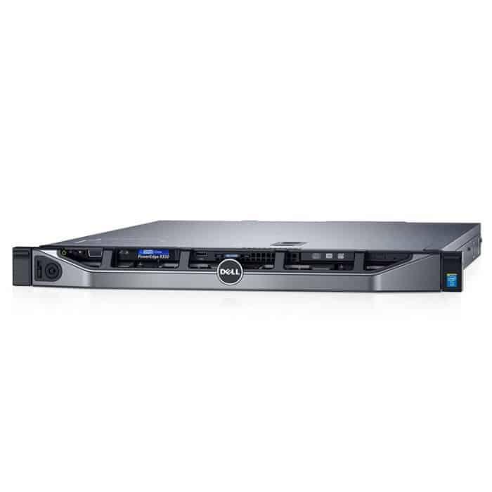 שרת Dell PowerEdge R330 Xeon E3-1220 V5 One PSU 250W PERC H330 - Dell