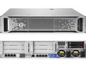 שרת עוצמתי עם 2 מעבדים   HP 480GB    – HP 4TB  x12- DL380G9  x2  E5-2670v3 2.3GHz – HP