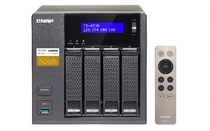 שרת QNAP TS-453A 4GB NAS