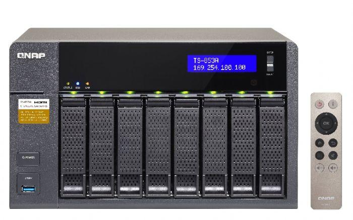 שרת QNAP TS-853A 4GB NAS