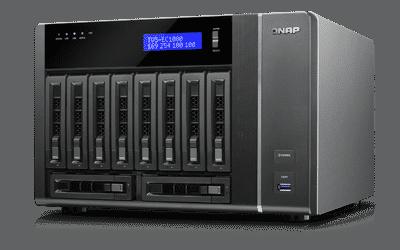 שרת QNAP TVS-EC1080-E3-16G NAS - qnap