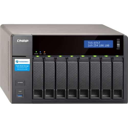 שרת QNAP TVS-871T-I7-16G NAS - qnap