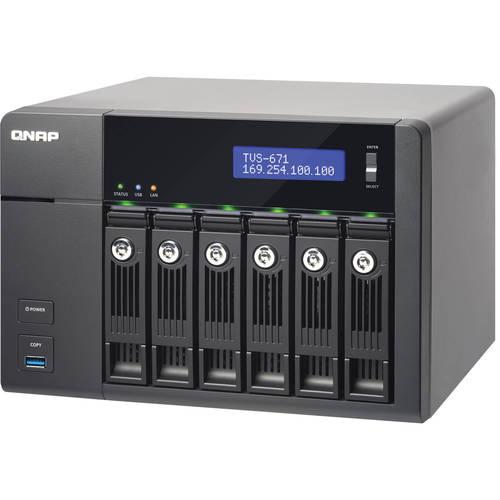 שרת QNAP TVS-671 i3-4G NAS - qnap