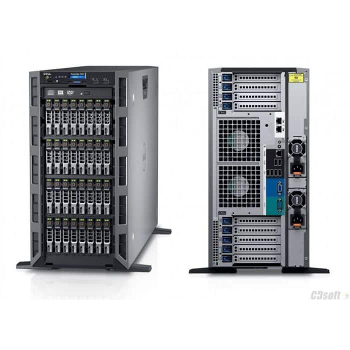 Dell Power Edge T430 E5-2609V4 1.6GHZ H730 8HD cage, DVDRW - Dell