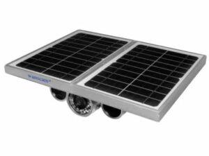 מצלמת אבטחה סולארית  HW0029-4G IP של WANSCAM + נתונים סלולרים 4G/3G