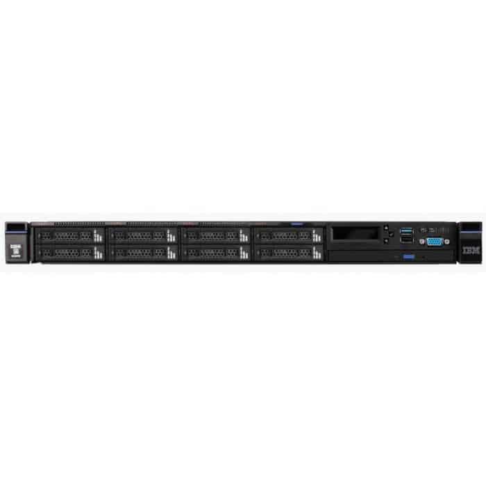 שרת Lenovo X3550 M5 Server Xeon 6C E5-2620v3 Rack 5463E2G - LENOVO