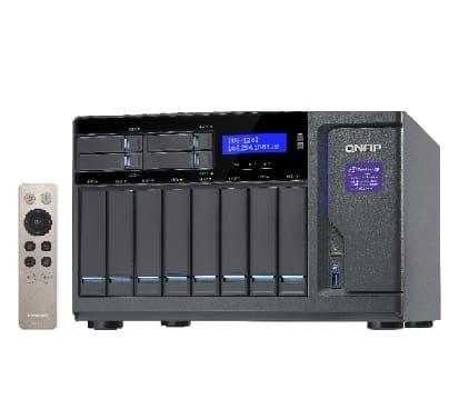 QNAP TVS-1282 tiered storage - qnap