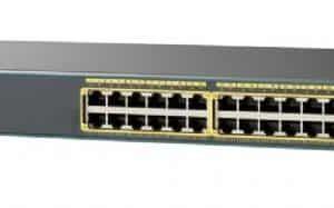 רכזת/ממתג רשת Cisco Catalyst 2960-X 24 Port 4x1G SFP LAN Base WS-C2960X-24TS-L