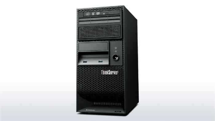 שרת  Intel Xeon E3-1226, 8GB, 2 X 1TB SATA  Lenovo TS140 - LENOVO