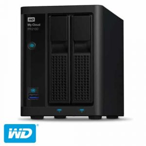 שרת אחסון Western Digital MY CLOUD PRO SERIES PR2100 WDBBCL0000NBK NAS