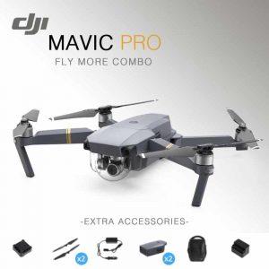 רחפן Dji Mavic Pro Fly More Combo