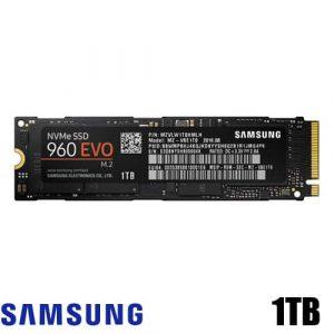 דיסק Samsung 960 EVO NVMe MZ-V6E1T0BW 1TB SSD M.2
