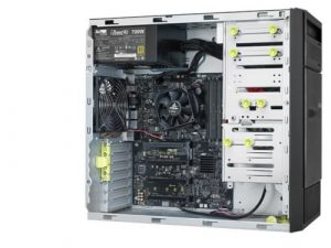 ESC500 G4 Workstation ASUS Advanced I/O Capability Nvidia K620