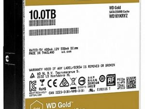 כונן קשיח פנימי Western Digital Wd Gold Datacenter WD101KRYZ 10000GB