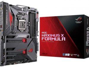 לוח אם Asus ROG MAXIMUS X FORMULA LGA1151v2, Intel Z370, DDR4, 3xPCI-E, HDMI, DP