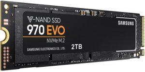 כונן קשיח Samsung 970 EVO M.2 MZ-V7E2T0 2TB SSD