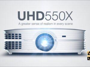 מקרן Optoma UHD550X – 4K Ultra HD אופטומה