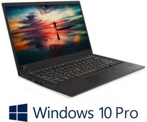 מחשב נייד ללא מסך מגע – ThinkPad X1 Carbon (6th Gen) 20KH006MIV – צבע שחור כולל מודם סלולרי 4G LTE