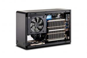 מחשב גיימרים ועריכה מקצועי הקטן בעולם  Z390 AORUS  A4-SFX  GeForce® RTX 2080Ti 11GB GDDR6 352 bit  BLOWER