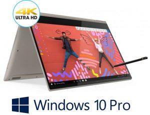 מחשב נייד עם מסך מגע Lenovo Yoga C930-13IKBR 81C4005YIV – צבע זהב כסוף