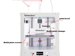 מדפסת תלת מימד Up Ultimaker 3 Extended 3D Printer