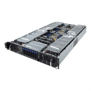 GIGABYTE G291-281 8XGPU DP SERVER GIGABYTE G291-281 8XGPU DP SERVER מכונת GPU DEEP LEARNING הכוללת 8 כרטיסי GTX 2080 TI