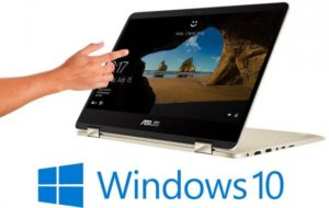 מחשב נייד עם מסך מגע Asus Zenbook Flip 14 UX461FN-E1049T – צבע זהב