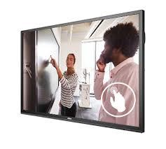 """מסך אינטראקטיבי מגע ויויטק Vivitek Novo LK6530i 65"""" Touch LED 4K Android 6.0"""