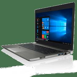 """מחשב נייד TOSHIBA PORTÉGÉ  Z30-E-14R – 13.3"""" FHD/i7 8550U/8GB/512SSD/1.2kg/Win10Pro/3YW"""