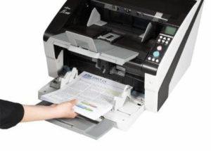 fi-6800 130ppm 260ipm Sheetfed Scanner סורק שולחני רשתי גודל: A3 Havy Duty