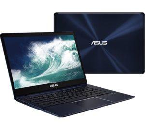 """מחשב נייד """"13.3 Asus ZenBook 13 UX331UA-EG005T i5-8250U בצבע כחול"""
