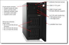 LENOVO SERVER ST250 Xeon E-2124 4C 3.3 GHz  8MB Cache,1x16GB,8×2.5HS,SW RAID,1x550W,XCC Std,DVD-ThinkSystem