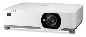 NEC P525WL WXGA LCD Laser Projector   Lumens: 5,000 מקרן לייזר