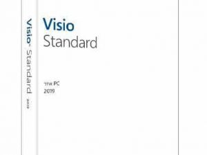 MICROSOFT Visio Std 2019 Windows Hebrew Medialess – FOR Windows 10 ONLY D86-05847