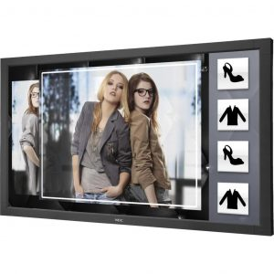 "NEC V801-TM Interactive Touchscreen Display 80"" 6-Touch (Finger) HD 1080p LED Infrared Touchscreen Display מסך מגע"
