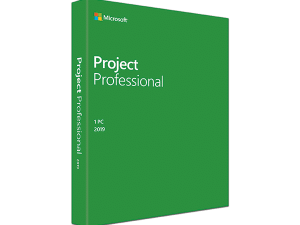 Project Pro 2019 Win English Medialess – FOR WIN 10 ONLY     H30-05763