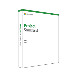 MICROSOFT Project Standard 2019 Windows English Medialess – FOR Windows 10 ONLY 076-05795