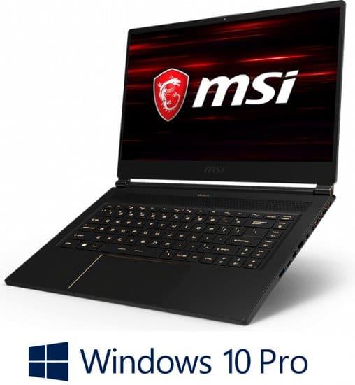 מחשב נייד לגיימרים MSI GS65 Stealth 9SF- Intel® Core™ i7-9750H   32GB, כונן SSD בנפח 1TB,  NVIDIA® GeForce® RTX 2070 8GB – צבע שחור