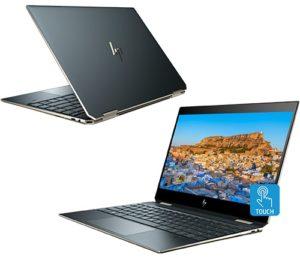 """מחשב נייד """"13.3 HP Spectre x360 13-AP0000NJ i7-8565U בצבע כחול פוסידון, כונן 1TB SSD, זכרון 16GB ומ.גרפי Intel 620"""