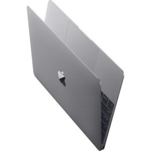 "מקבוק Apple MacBook 12"" Z0TY0000K 1.4GHz Dual-Core Intel Core i7, 512GB SSD, 16GB RAM – דור אחרון – אפור חלל"
