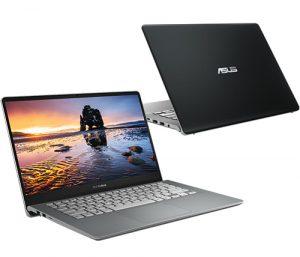 """מחשב נייד """"14 Asus VivoBook S14 S430FN-EB126T i7-8565U בצבע אפור מתכת, כונן 512GB SSD זכרון 8GB ומ.גרפי Nvidia MX150"""