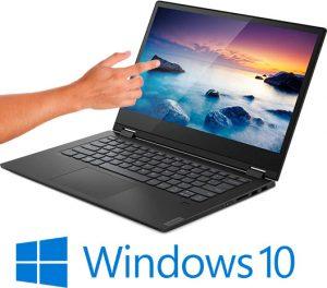 מחשב נייד עם מסך מגע Lenovo IdeaPad C340-14IWL i7-8565U 1TB SSD  81N400AXIV – צבע שחור